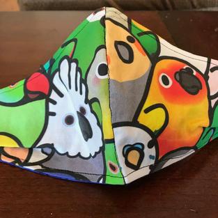 #2-5 Parrot Face- med, lrg $18.00