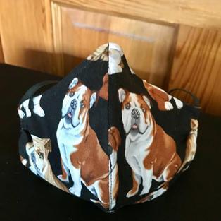 P25- English Bull Dog medium-Petite, Large $18.00