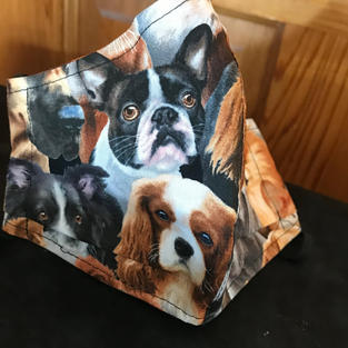 P 5 Dog Heads many different cuts $18.00