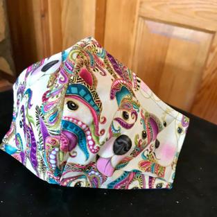 #1-24 Masquerade Puppies- sml, med, lrg $18.00
