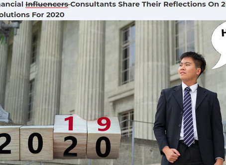 Singapore Financial Consultants Share Their Reflections on 2019 and...eh, you get it.
