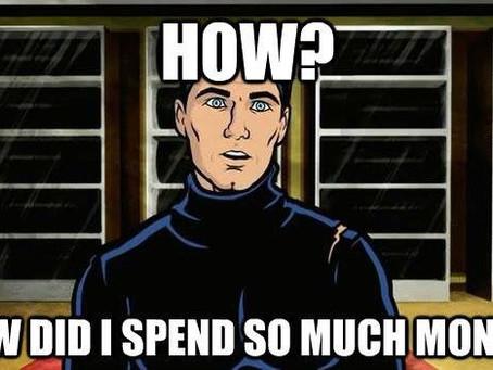 Money Maverick's 2019 Expenses