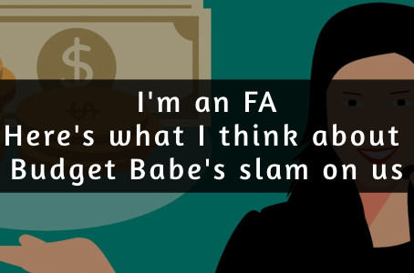 Response to Budget Babe's Open Letter: Probably kinda sorta right...