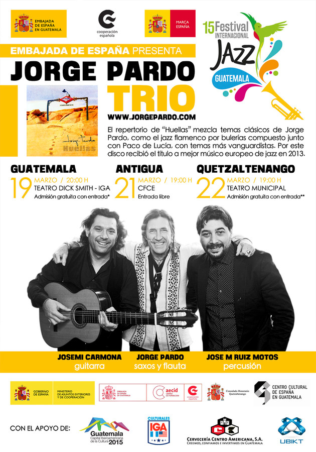 15 FESTIVAL JAZZ GUATEMALA