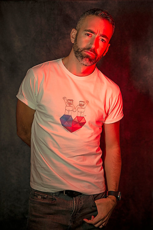 MÍO Camiseta Blanca RESISTANCE
