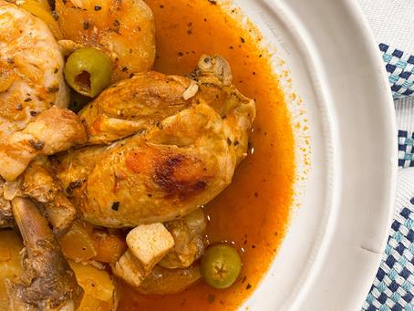 Insta-Pot Spanish Chicken Stew