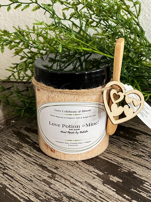 Love Potion #Mine! Salt Scrub