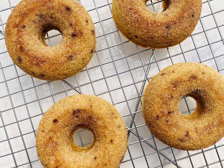 Low Carb/Keto Cinnamon Donuts