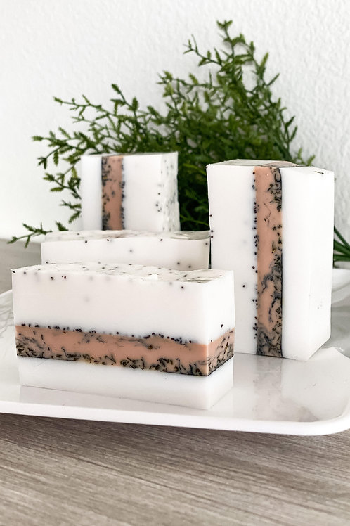 Passion Fruit & Activated Charcoal Soap Bar