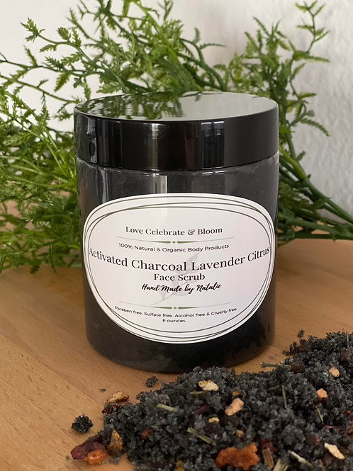 Activated Charcoal Face Scrubs