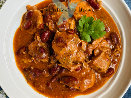 Red Beans & Pork Neck Bone Stew