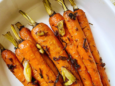 Honey-Cumin Roasted Carrots