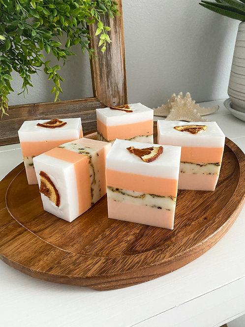 Orange, Vanilla & Chamomile Exfoliating Bath Bars