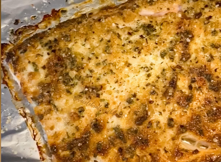 Oven Baked Encrusted Salmon