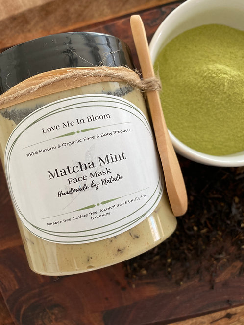 Matcha Mint Face Mask