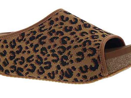 Women's Leopard Mules