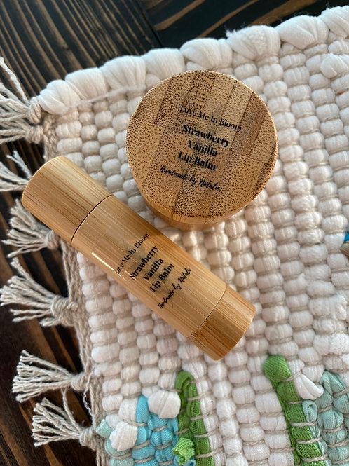 Bamboo Lip Balm Rounds