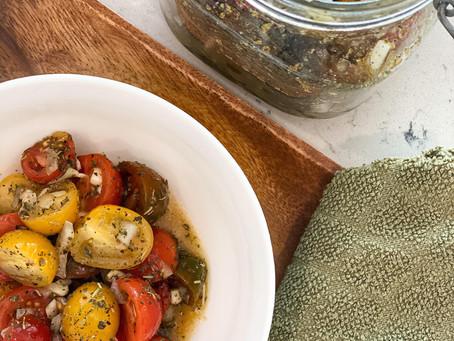 Easy Tomato Vinaigrette