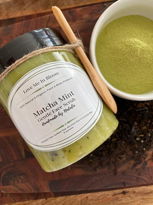 Matcha Mint Gentle Face Scrub