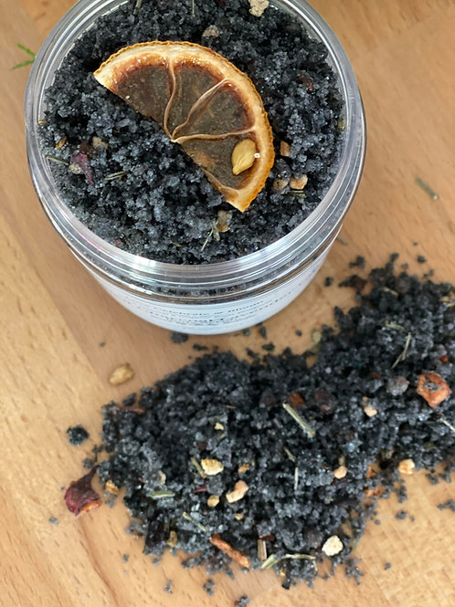 Activated Charcoal Body Scrubs