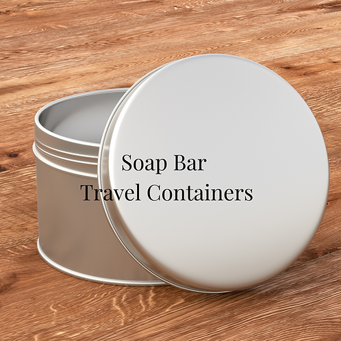 Soap Bar Travel Containers