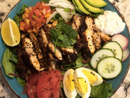 Pan Seared Spiced Mediterranean Chicken
