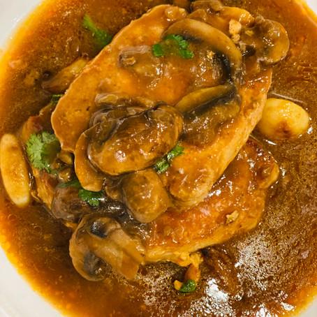 Pork Mushroom Marsala