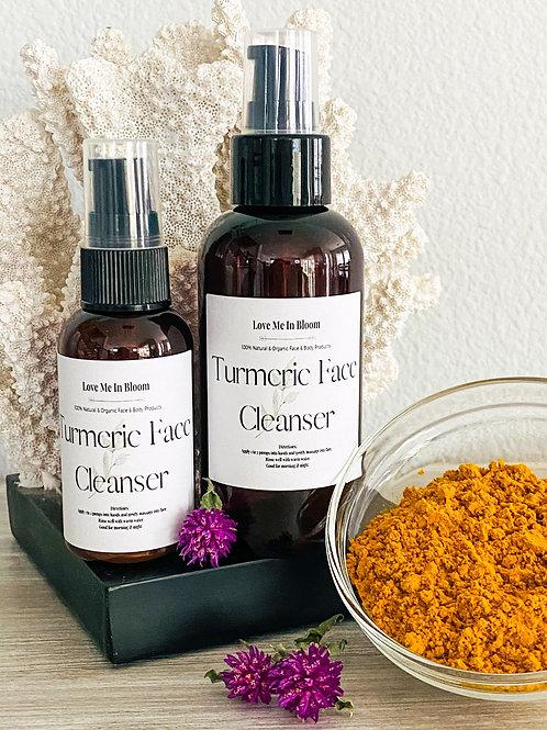 Turmeric Face Wash -  2 ounce bottle
