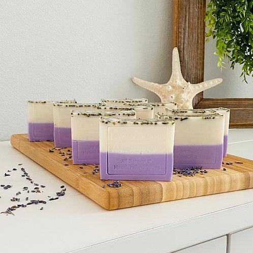 The Lavender Basil Bath Bar