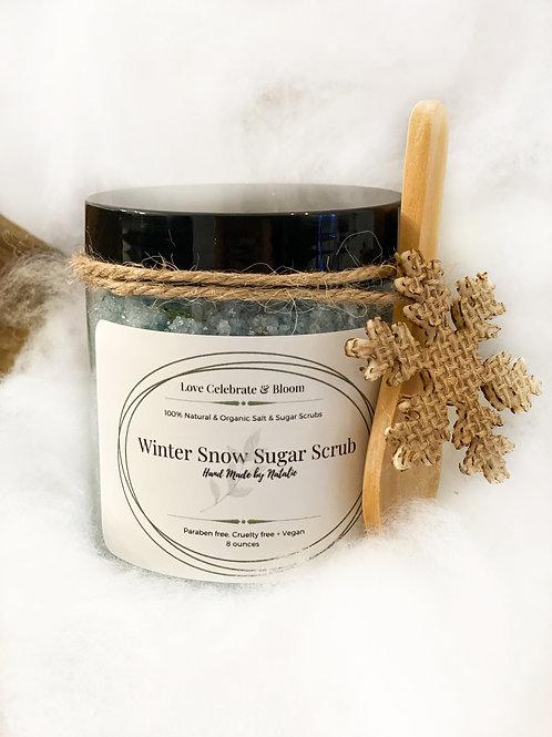 Winter Snow Sugar Scrub