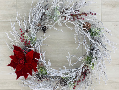 Creating a Wreath on a budget!