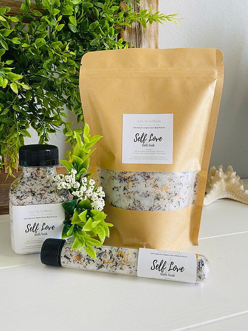 Self Love Bath Soak Set