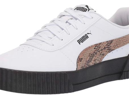 PUMA Carina Leopard Sneakers