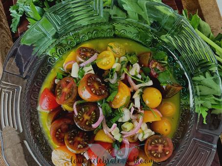 Tomato Herb Vinaigrette