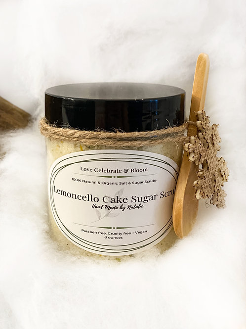 Lemoncello Cake Sugar Scrub