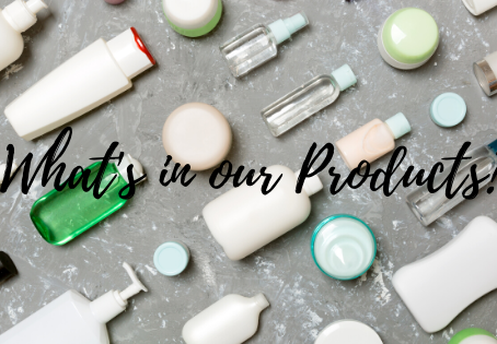 Let's talk Parabens and why they are not good for you!