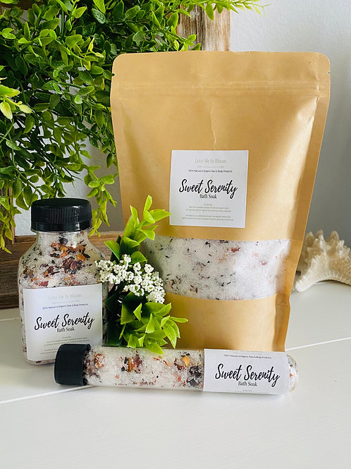 Sweet Serenity Bath Soak Set