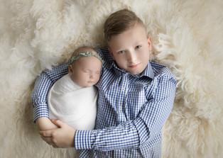 Bergen County, NJ Newborn Photographer | 6 weeks beautiful baby girl.