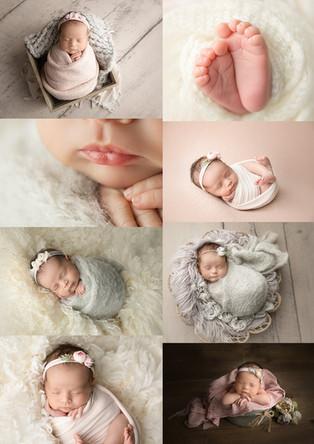 New Jersey Newborn Photographer | Baby Cora Rose