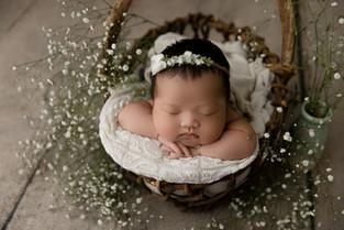 New York New Jersey Newborn Photographer  | Beautiful Adelaine.