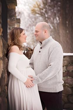 NJ pregnancy photoshoot