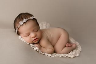 New Jersey Newborn Photographer    Sleepy Vivienne.
