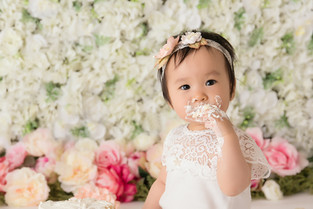 New Jersey Newborn & Maternity Photographer  | Spring Perfect Cake smash.