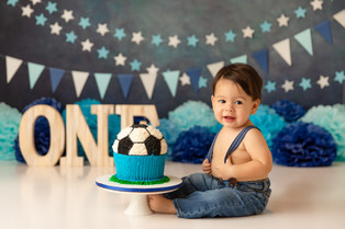 Cake Smash Photographer Bergen County NJ  | Marcelo is one!