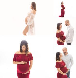 Bergen County New Jersey Maternity  Photographer   Studio Session