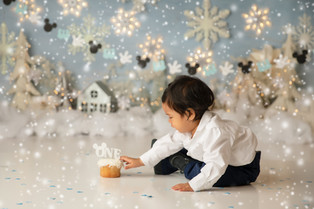 New York New Jersey cake Smash Photographer  | Dylan is one!