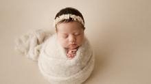 NJ newborn baby photographer  | Josephine girl newborn session.