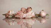 NJ newborn baby photographer  | Arya Belle baby girl newborn session.