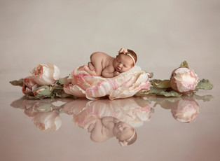NJ newborn baby photographer  | Arya Belle baby girl newborn session.
