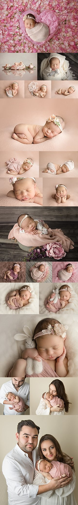 Bergen County New Jersey Newborn Photographer  | Baby Leona